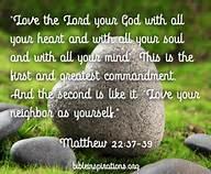 love god self neighbor